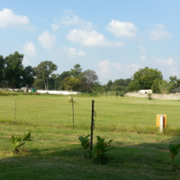 Plot with 4 houses well established