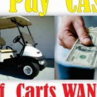 Golf Carts Damaged or not, running or not