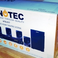 sinotec 5.1 channel home theatre system in box with warranty
