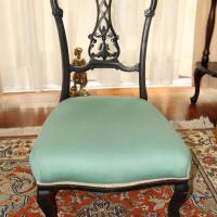 Antique feeding chair