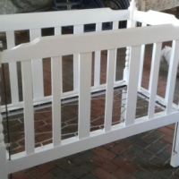 Baby Solid Wood Cot for sale