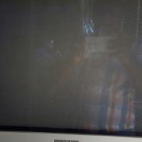 Aim pure flat box tv with original remote control