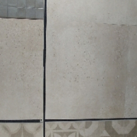 Cement Look with Stones,Tile