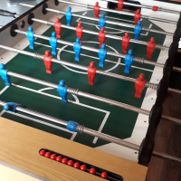 Standing Soccer Table