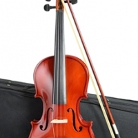 VIOLIN 4/4 FULL SIZE WITH CASE & BOW