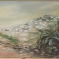 hill side painitng
