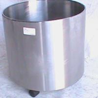 Silver plant holder