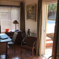 Fully furnished garden flat