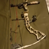 Bowtech Assassin bow and accessories