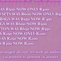 Luciano Brands    •MK BAGS WAS R500 NOW ONLY R400 •MK COMBO SETS WAS R600 NOW ONLY R500 •PRADA CO