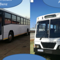 Mercedes-Benz bus and AAD bus 65 seater for sale