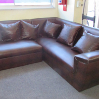 Brand New L Shape Leather Touch Couch