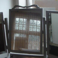 Three Section Dressing Table Mirror