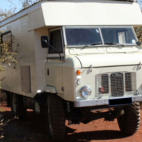 Land Rover Series IIB Forward Control (1969) converted into a motorhome