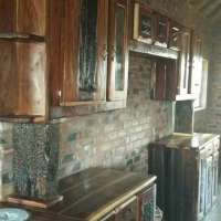 Kitchen cupboards from Sleepers