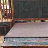 SLEEPER FURNITURE: Double Beds, headrests