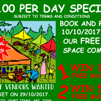 Competition: Win Free Stall Space & R100 per day for a year Introductory Offer