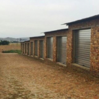 Self storage units to rent.