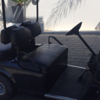 EZGO TXT 4 SEATER GOLF CART