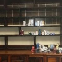 Sleeper Cigarette Counter / Cabinets - Shop shelving