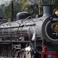 STEAM TRAIN RIDES DURBAN @ Kloof Station Outer West.