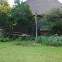 Tuinwoonstel vir enkellopende