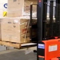 NEW 1.0 TON ELECTRIC PALLET STACKER WITH 3.3m LIFT (ELECTRIC DRIVE AND LIFT) FOR SALE