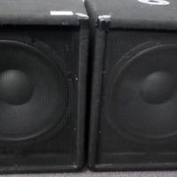 """Dixon 15"""" 500W Professional Bass Bin Speakers"""
