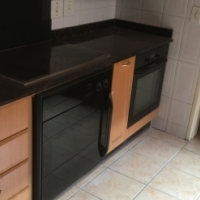 Two ovens and  a hob