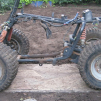 Quad - Rolling Chassis - For Size 100cc - 150cc Engines - R1,000