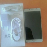 Samsung A9 with box and all its accessories