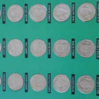 Cricket Coins. Official Medal Collection van South Africa vs India in SA 1992.