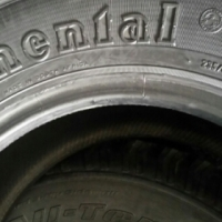 235/85 R16 x 2 Continental Tyres(90% tread)
