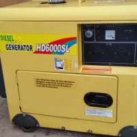 Diesel Generator HD6000SL