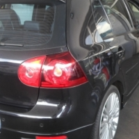 2008 Black Automatic VW Golf-5 R32 engine