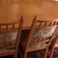 Oak Dining Room Suite