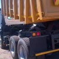 Tipper truck rental business for sale. Est 2002