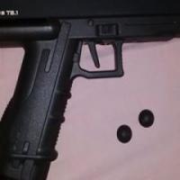 TIBERIUS T8.1 Paintball pistol.