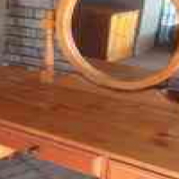 Oregan pine Dressing table