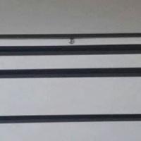 Staal lessenaar h74,b120,d75