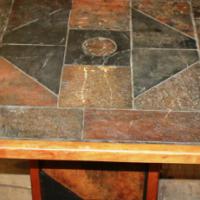 Slate Tile Table S022869E #Rosettenvillepawnshop