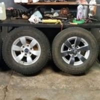 Ford mags size 16 6 holes