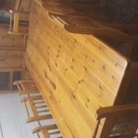 Oreagon pine dining set
