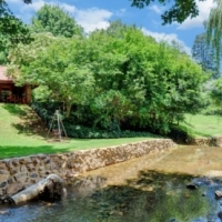 Family home with river frontage - entertainer's dream