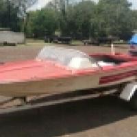 Impala boat evenrude 40hp plus trailer