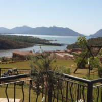 Breathtaking stand and plans for sale on Estate D Afrique Hartebeespoort Dam