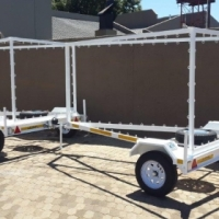 DURA: Advert, Marketing, Promotional, road side advertising trailers