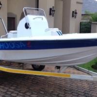 Bass Boat Ski Yamaha 75 Trim & Tilt Electric Start tyres Fuel tank for sale  Pretoria North