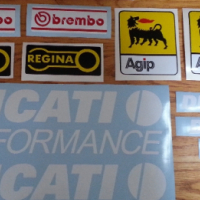 Ducati decals stickers graphics sets