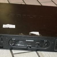 Samson 2 Channel Amplifier S022876A #Rosettenvillepawnshop